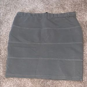 NWOT Cotton On Mini Skirt - Olive Green - Small